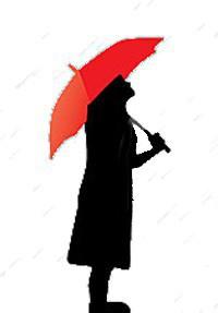 donna-con-l-ombrello-rosso-sotto-pioggia-39633519